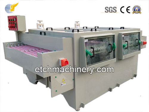 Embossed stainless steel press plate Etching Machine