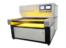 Double sides UV LED dry film Exposure machine