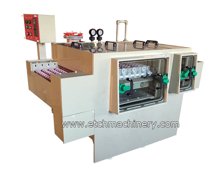 Small film stripping Machine for PCB